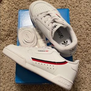 NWB ADIDAS continental 80 toddler size 10